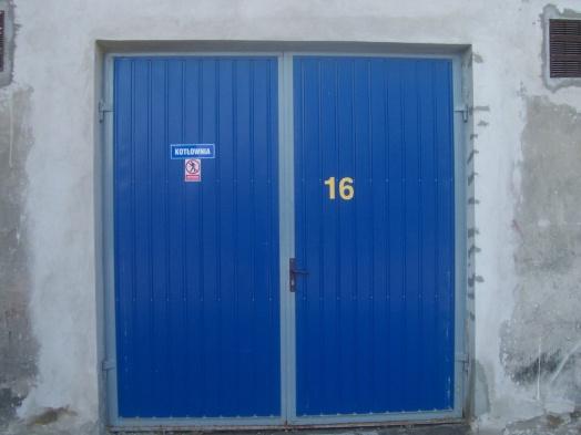 Drzwi Stalowe Do,garaży, Budynków  Inwentarskich I Produkcyjnych . 2