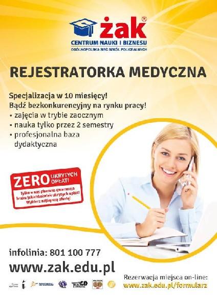 Rejestratorka Medyczna - Zwolniło Się Kilka Miejsc!